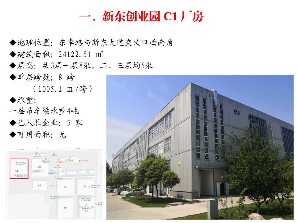 新东创业园 C1 厂房